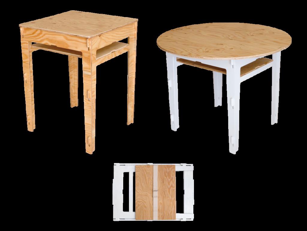 basic table | yoka<ヨカ> 組み立て式木製アウトドア家具ブランド