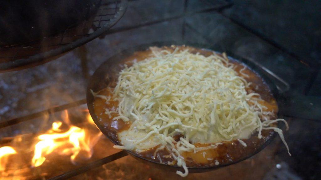 チーズどっさり